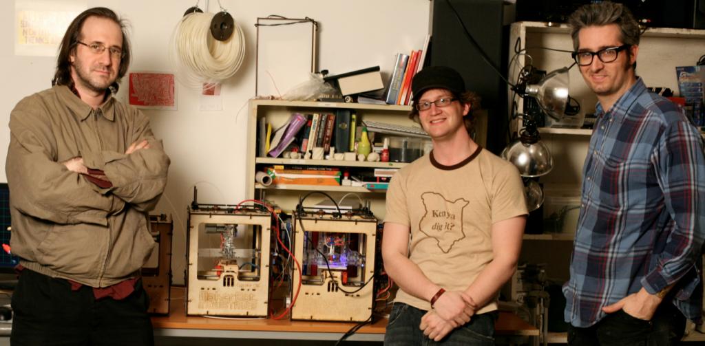 makerbotの旗揚げ