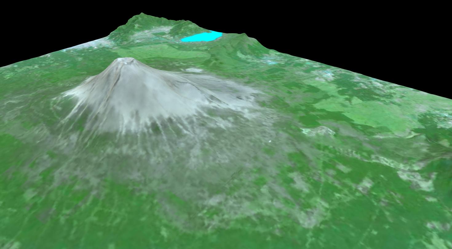 地図3Dモデル