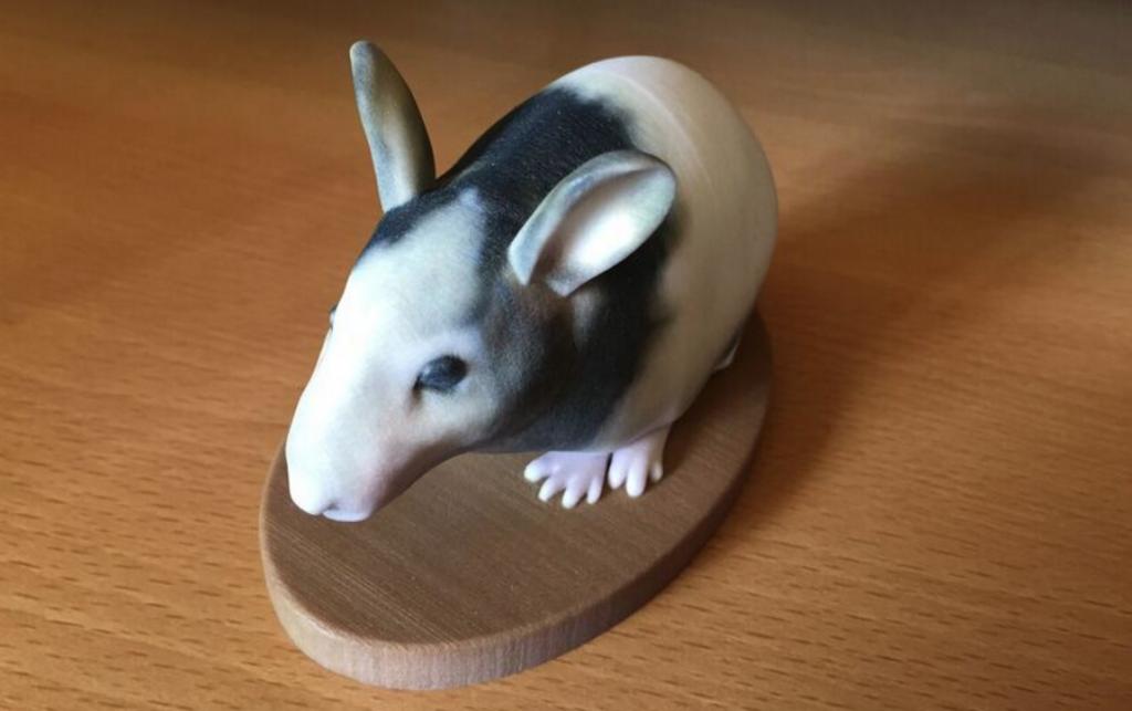 石膏素材3Dプリンター