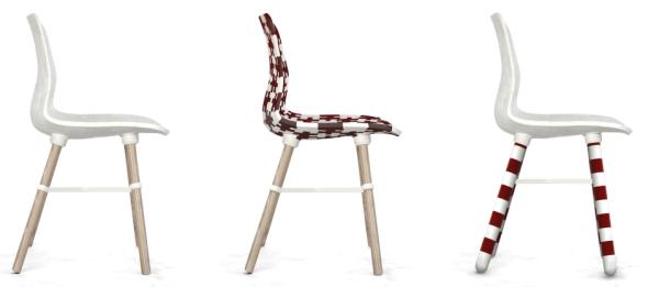フルサイズの椅子のデータが配布されている