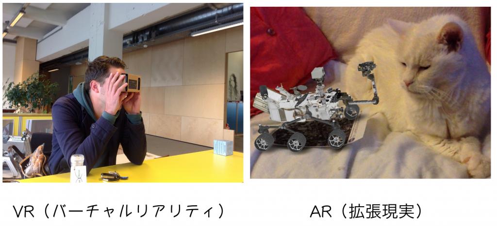 ARとVRの違いはこれ!