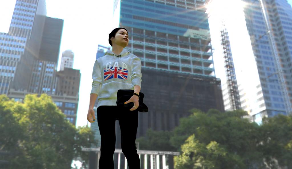 写真から人の3Dモデルを作成