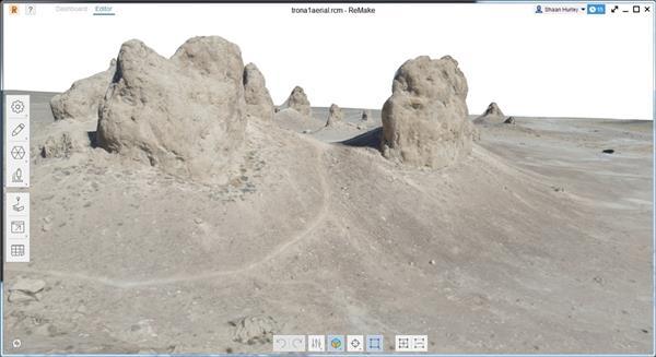 広大な土地も3Dデータにできる