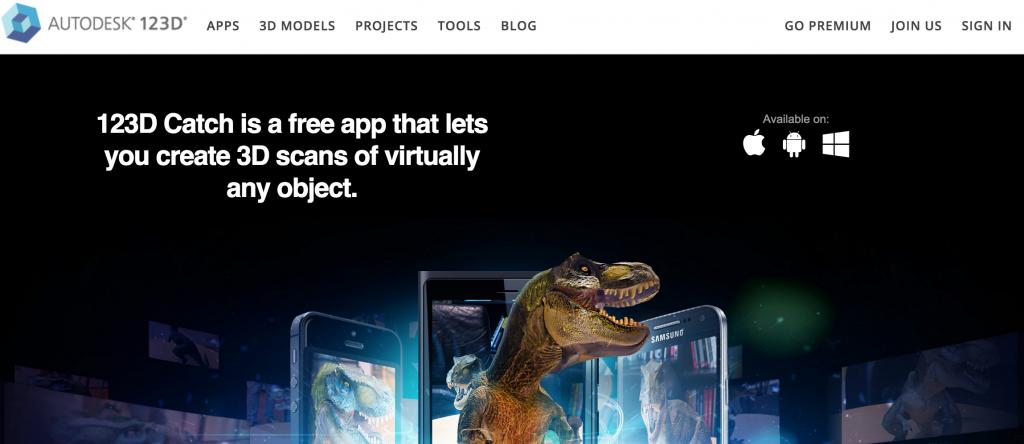 写真から3Dデータが作れるアプリ